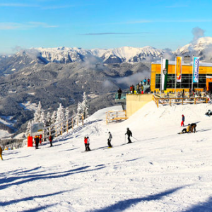 (English) Stuhleck ski resort