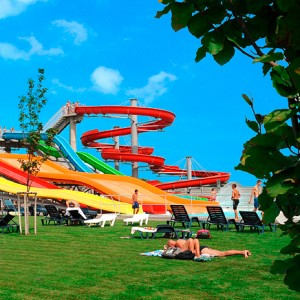(English) Aquapark Senec and Outlet shopping