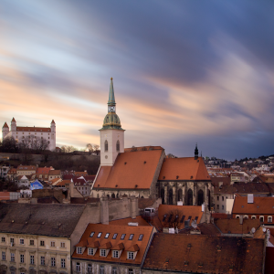 (English) Panoramic Bratislava – Sightseeing Tour